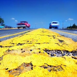 Mitchell Funk, Yellow Line Wichita Falls  Texas (1979)