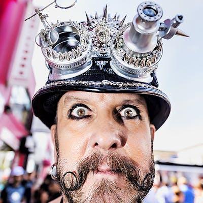 Mitchell Funk, Folsom Street Fair, BDSM Leather Event #42 (2015)