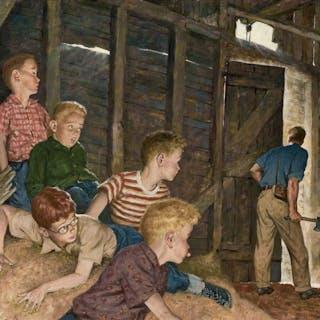 Amos Sewell, The Hatchet (ca. 1950)