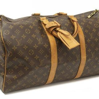 LOUIS VUITTON  KEEPALL 50  MONOGRAM DUFFLE BAG – Current sales –  Barnebys.com 8b40e22512572