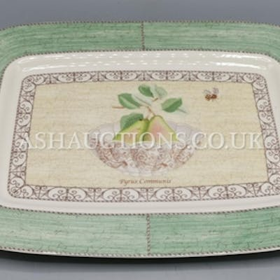 WEDGWOOD CHINA Extra Large TRAY IN THE SARAH'S GARDEN DESIG...