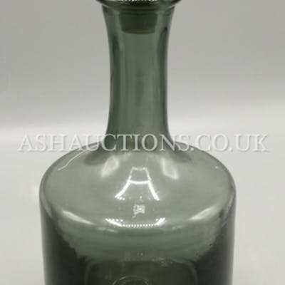 WEDGWOOD SMOKED GLASS DECANTER By Frank Thrower