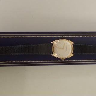 A vintage Ulysse Nardin 18k gold chronometer wristwatch, the...