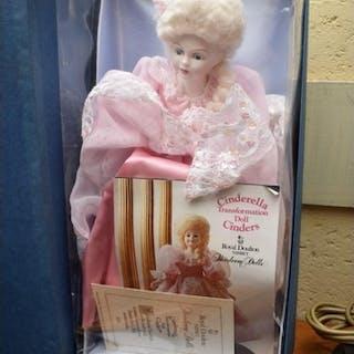 A Royal Doulton limited edition 'Cinderella' doll, boxed.&nb...