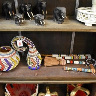 Ethnographica: a small collection of African tribal beaded i...