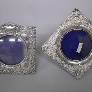 An Edwardian silver photograph frame, by Henry Matthews, Bir...