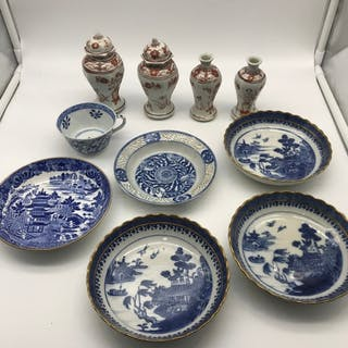A Lot of 19th/ 20th century Chinese blue and white wares inc...