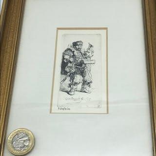 Rembrandt Harmensz Van Rijn (Dutch 1606-1669) The Quack Salv...