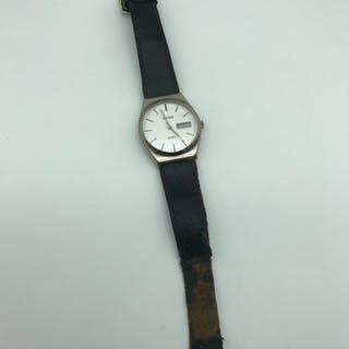 A 1970'S Sekonda Quartz gents wrist watch. In a working cond...