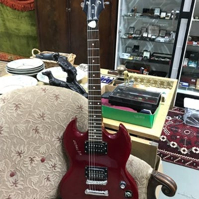 Epiphone SG Special Cherry electric guitar. Has W G TAYLOR M...