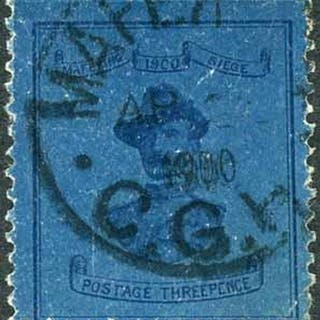 1900 USED 3d GENERAL BADEN POWELL: Used 3d Deep Blue/Blue (l...