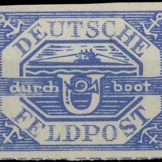 WWII FELDPOST MISCELLANY: Small group incl. mint example of ...