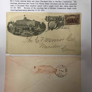 BOX FILE - 1846-90s COLLECTION OF EARLIER HOTEL ADVERTISING ...