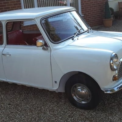A 1971 Austin Mini 1000 MkIII, registration number ATR 22K, ...