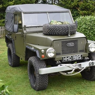 ** Clutch not working** A 1974 Land Rover Series III milita...