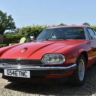 A 1989 Jaguar XJS 3.6 coupé, registration number G546 THC, c...
