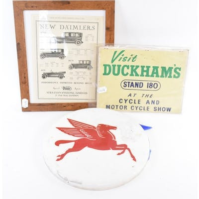 A Visit DUCKHAM'S at the Cycle and Motorcycle Show, Stand 18...