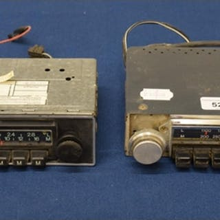 EXTRA LOT: A Blaupunkt classic car radio and another, Radio...