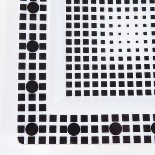 Victor Vasarely, Rosenthal Art Line black and white optical ...
