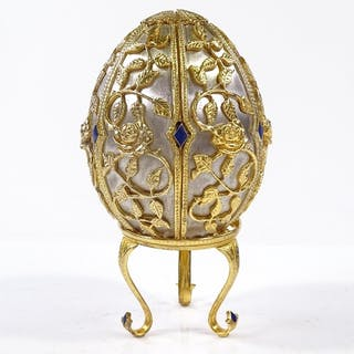 A Theo Faberge St Petersburg Collection Egg - Emergence of S...