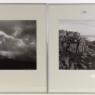 David Herrod, 2 original photographs, Lake District, signed ...