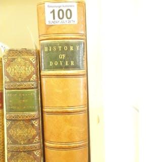 History of Dover by John Lyon 1813, ex library of Roger Maho...
