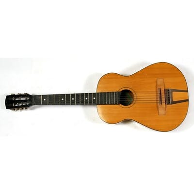 A 1960's Russian seven-string acoustic guitar (currently wit...