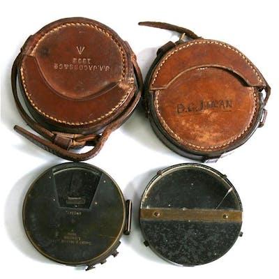 A Victorian Watkins Mirror Clinometer Reg 14 Mar 1881, made ...