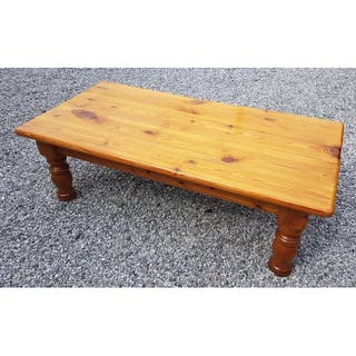 Modern Pine Coffee Table Cft X Ft Current Sales Barnebyscom - 4ft coffee table