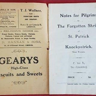 St. Patrick's Shrine Knockpatrick near Foynes by T. de B [ T...