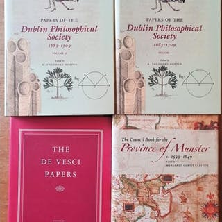 Papers of the Dublin Philosophical Society, vol 1 & 2, T...