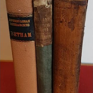 Irish Antiquarian Researches by Sir William Betham, 1827 wit...