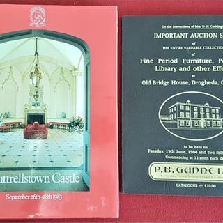 Christies' Catalogue - Contents of Luttrellstown Castle, Sep...