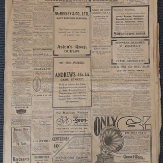 1916 Interest Irish Independent Newspapers - Three Irish Ind...