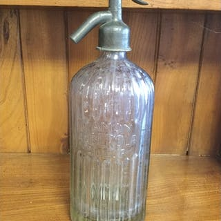A French soda syphon -