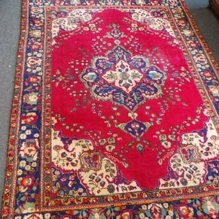 Large Thick Pile Handwoven Floor Rug 290cm x 210cm