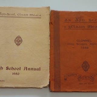 1) Clonmel High School Annual, An Ard Scoil i gCluain Meala ...