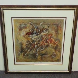 Framed Ltd Edition Print 'Midsummer Nights Dream' 136/295