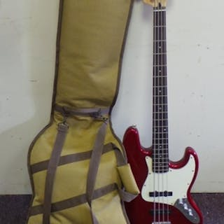 Fender Squier Jazz Bass 4 String Guitar with bag