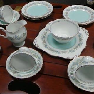 21 Piece Tuscan Teaware (Fresco)