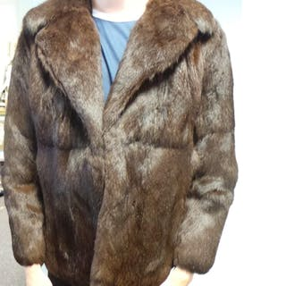 Fur Coat - Darker Brown