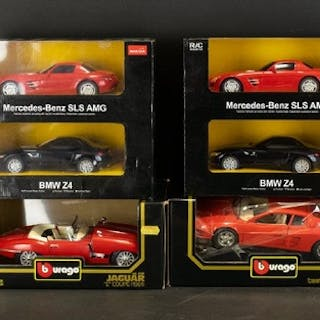 A Collection of Boxed Model Cars to include Rastar BMW Z4 Me...
