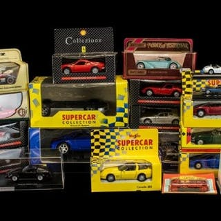 A Collection of Assorted Boxed Model Cars. To include Nissan...