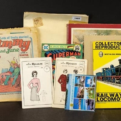 A Few Assorted Collectables includes a well laid out Matchbo...