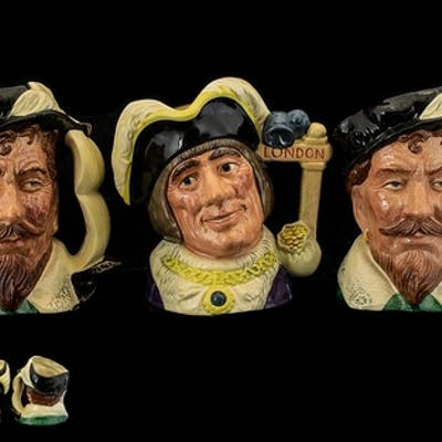 Royal Doulton Collection of Hand Painted Special Edition and...