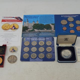 UK 1982 Uncirculated Coin Collection in Royal Mint pack; The...
