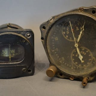 A USAF Type A-10A Aircraft Clock by the Jaeger Watch Company...