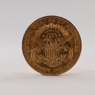 UNITED STATES OF AMERICA 1904 TWENTY DOLLAR DOUBLE EAGLE LIB...