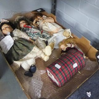 •ANNABELLE, BOXED SMALL COLLECTORS DOLL, ANOTHER AND THREE L...