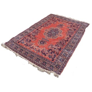 CONTINENTAL MACHINE MADE TAPESTRY FLAT WEAVE RUG OF PERSIAN ...